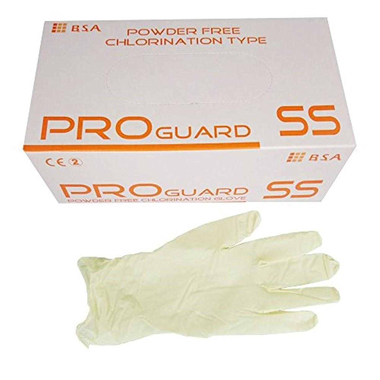 紛争オレンジ副詞B.S.Aプロガードパウダリーフリー滑り止め加工付 塩素処理タイプSS