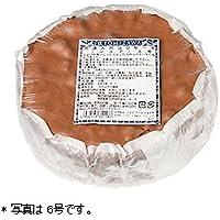 【冷凍便】冷凍スポンジケーキ(ココア)5号/1個 TOMIZ/cuoca(富澤商店) 冷凍スポンジココア 15cm(4~6人用)