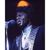 ブロマイド写真★ジェームス・ブラウン James Brown/熱唱するアップ
