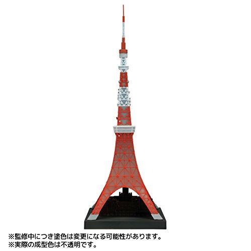 ソフビトイボックス ハイライン003 東京タワー 日本電波塔 1/1300スケール塗装済みソフトビニール製フィギュア