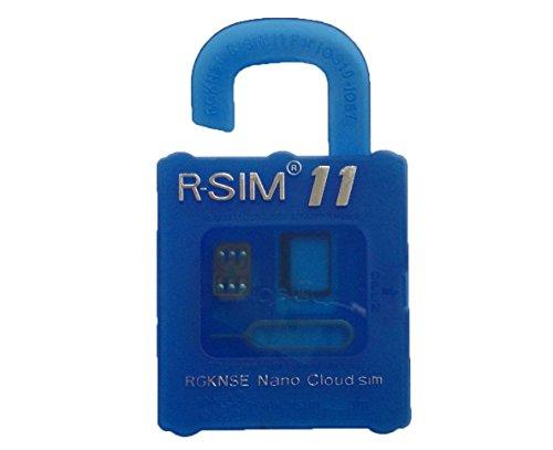 R-SIM11 iPhone7 / 7 Plus / 6S / 6S Plus / SE / 6 / 6 Plus /5S /5C /5 sim ロック解除アダプタ iOS10-7 対応 SIM Unlock アンロック SIMフリー 解除アダプター RGKNSE/rsim/ (RGKNSE青色パッケージマニュアル無し) [並行輸入品]