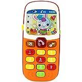 RETYLY 子供に向け携帯電話のおもちゃ 電子玩具 子供の携帯電話 教育学習玩具 音楽幼児電話 最高の贈り物 子供のため ランダムカラー ボックス付き