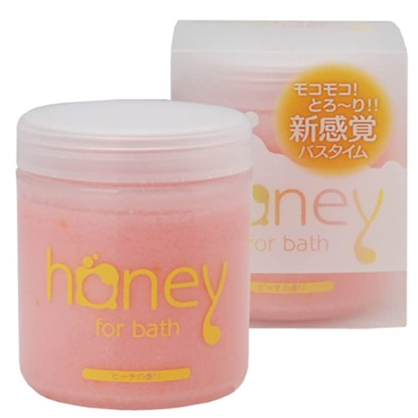 みなす先にボルトとろとろ入浴剤【honey】(ハニー) ピンク ピーチの香り 泡タイプ ローション バブルバス