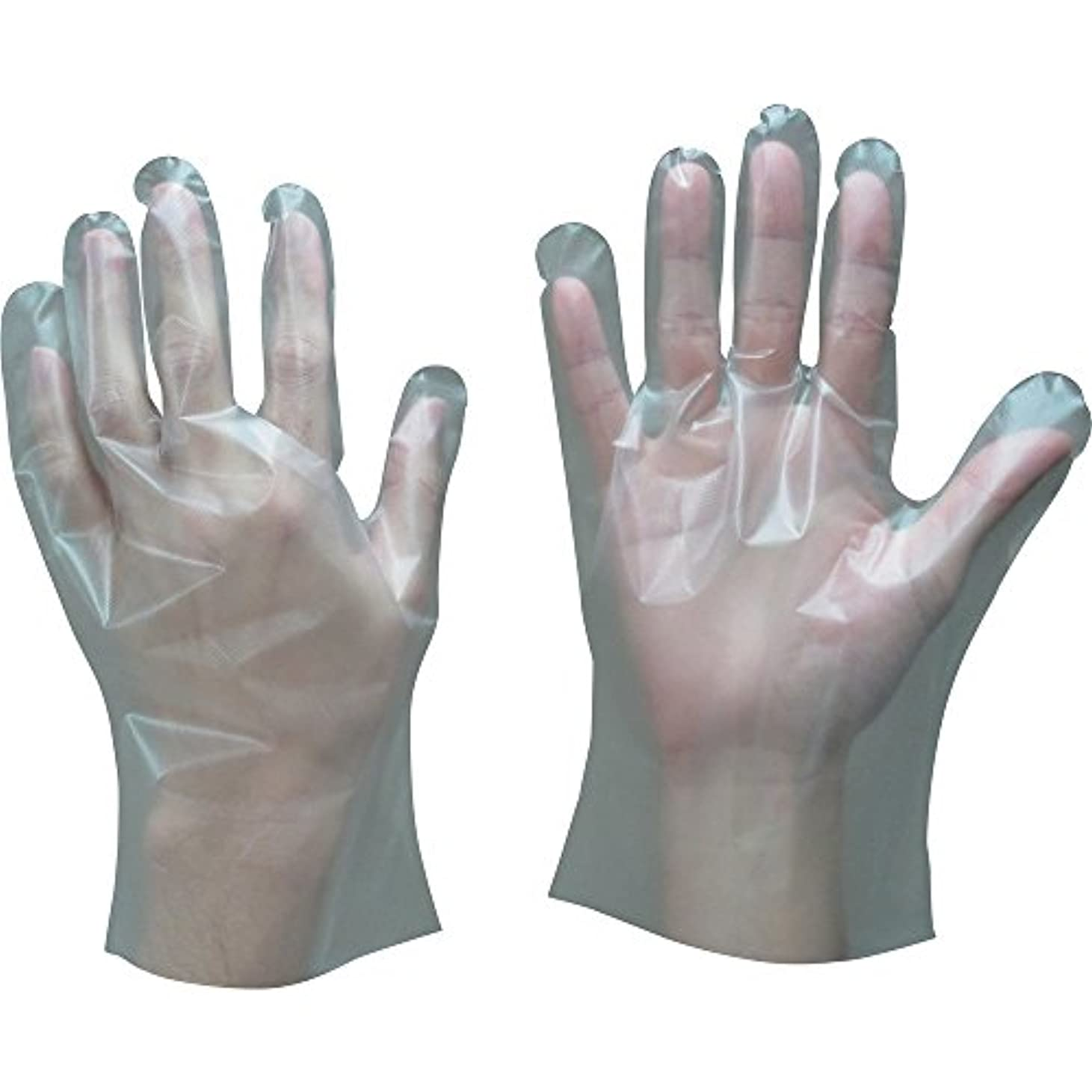 見つけたシステム第東和コーポレーション ポリエチレン手袋 100枚入