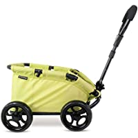 Triokid NEW Design My First Toy Wagon Trioswagon Lemon Green Deluxe Doll Stroller Drawable Fabric