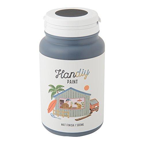 HANDIY PAINT(ハンディペイント) チョークペイント塗料 ランプブラック(つや消し黒)