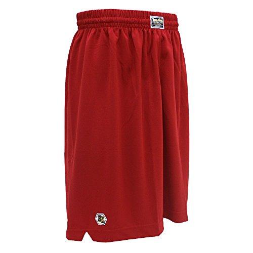 LINE ボールライン バスケットボールパンツ バスパン バギーショーツ BL9002 レッド XL