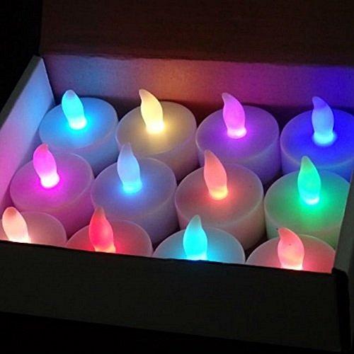 LEDキャンドル 48個 7色