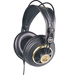 AKG 密閉型ヘッドホン スタジオモニター K240S【国内正規品】