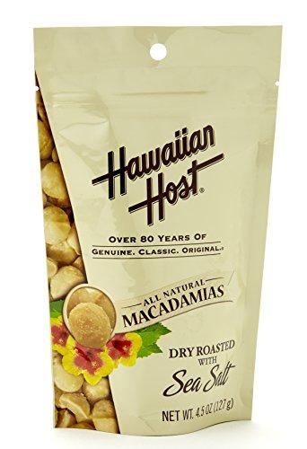 ハワイアンホースト・ジャパン 塩味マカデミアナッツ スタンドアップバック 127g