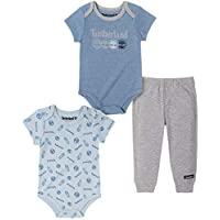 Timberland Baby Boys' 3 Pieces Bodysuit Pants Set