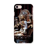 igcase iphone7 iphone アイフォーン 専用ハードケース スマホカバー カバー ケース pc ハードケース 005093 写真・風景 仏像 写真 黒