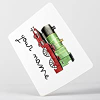 Customized Classic Vintage Locomotive Train Children Kids Personalised マウスマット