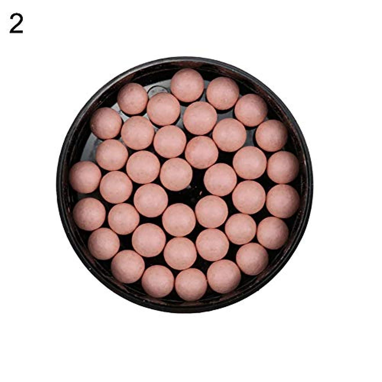 ビーム同等のエアコン赤面ボールフェイスファンデーションシェーディングパウダーブロンザーアイシャドー輪郭化粧品 - 2