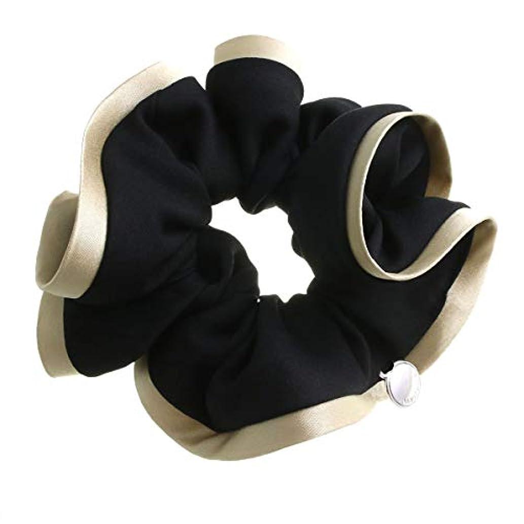 柱安全な複製する[ヴァンテーヌ] VINGTAINE バイカラー シンプル シュシュ バイカラー 髪留め ヘアアクセサリー HS-1