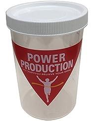 パワープロダクション プロテインシェーカー ホワイト 500ml