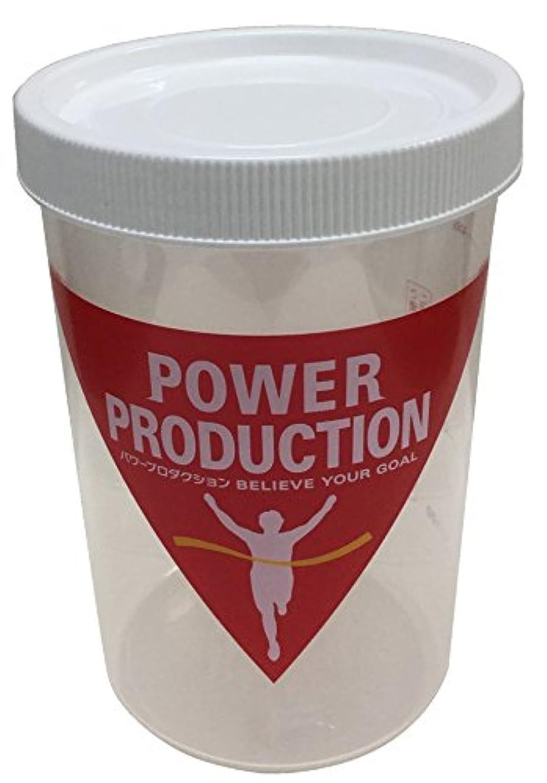 悲劇的な噴水アイスクリームパワープロダクション プロテインシェーカー ホワイト 500ml