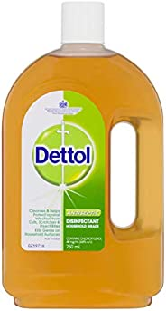 Dettol Antiseptic Antibacterial Disinfectant Liquid, 750ml