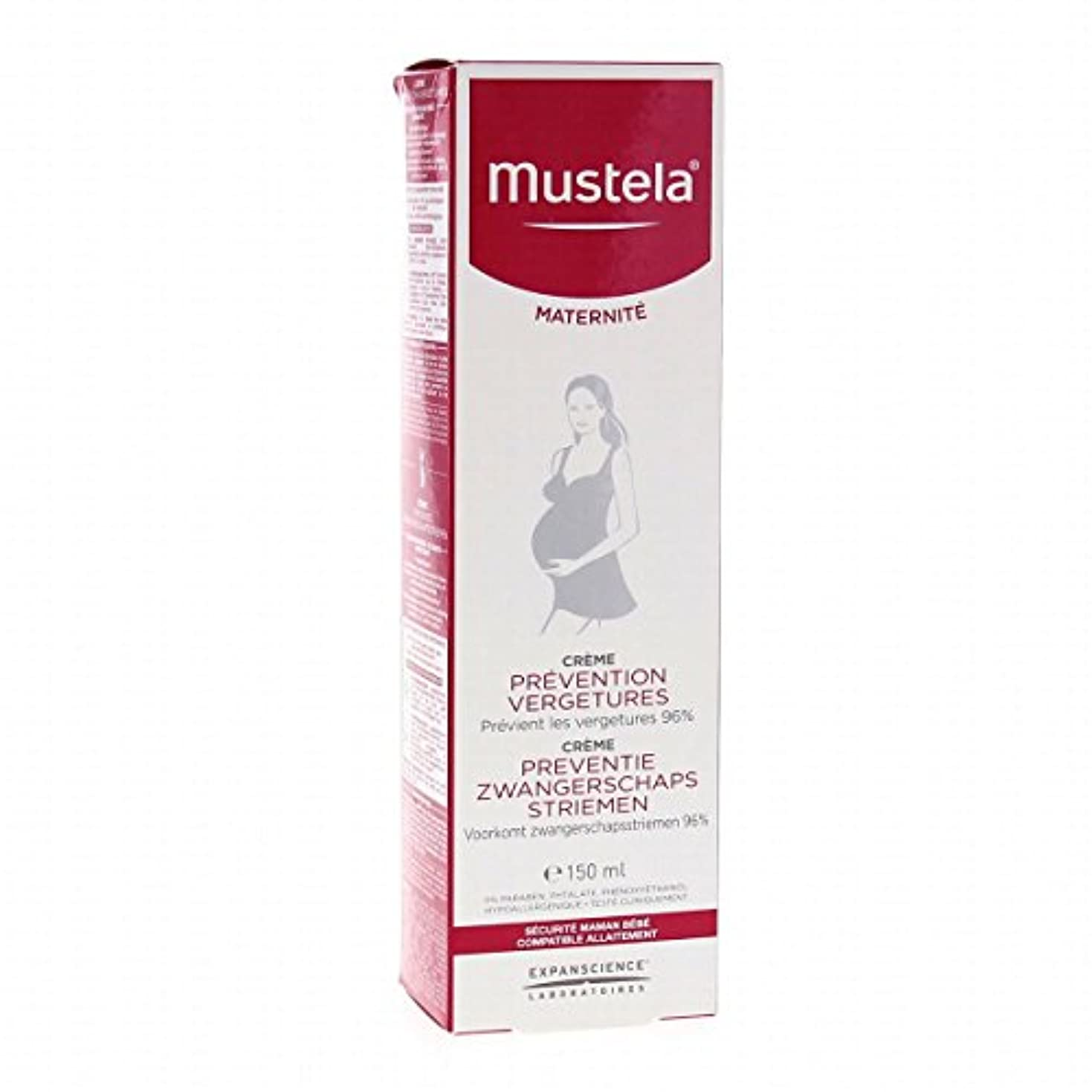 興奮するハプニング血まみれのMustela Maternity Stretch Marks Prevention Cream Fragrance Free 150ml [並行輸入品]