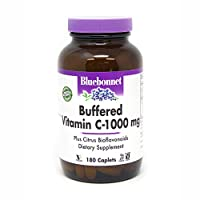 海外直送品Buffered Vitamin C, 1000 Mg, 180 CPLT by Bluebonnet Nutrition