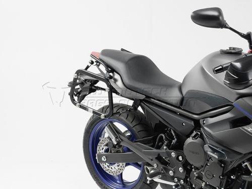 SW-MOTECH: EVOサイドケースホルダー Black Yamaha XJ6 (13-)   kft-06-382-20000-b KFT.06.382.20000/B
