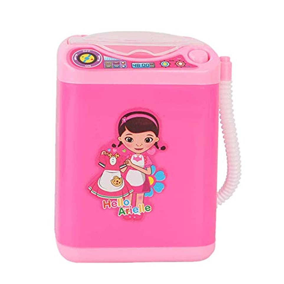 事アークソートMissley ミニブレンダー洗濯機のおもちゃ美容スポンジブラシワッシャーメイクアップブラシクリーナー模擬電化製品教育ギフト (Style4)
