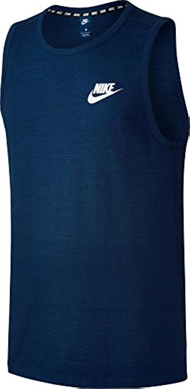 折る全く挑発するナイキ トップス シャツ Nike Men's Sportswear Advance 15 Sleeves BinaryBlue [並行輸入品]