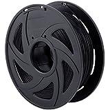 3D Printer Filaments - 1.75 mm PLA Filament, Low Odor High Precision 3D Printing Filament, 2.2 lbs / 1kg Spool 3D Printer Filament for Most 3D Printers & 3D Pens (Black)