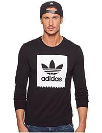 (アディダス) adidas メンズタンクトップ・Tシャツ Long Sleeve Blackbird Tee