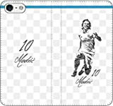 iPhone/Xperia/Galaxy/他機種選択可:サッカー/グラフィティ手帳ケース(デザイン:マドリッド/10番_02) 07 iPhone8