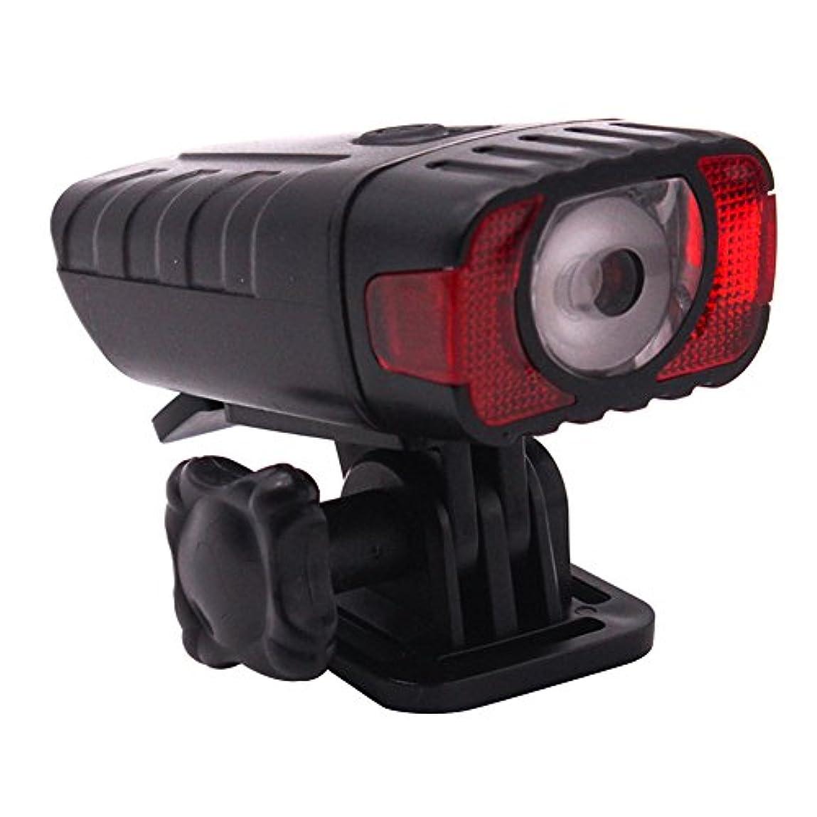 起きている禁止自治的RaiFu 自転車ヘッドライト USB充電式 防水 自転車 マウンテン バイク インテリジェントLEDライト 防水 ヘルメットランプ