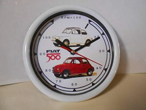 フィアット500 壁掛け時計