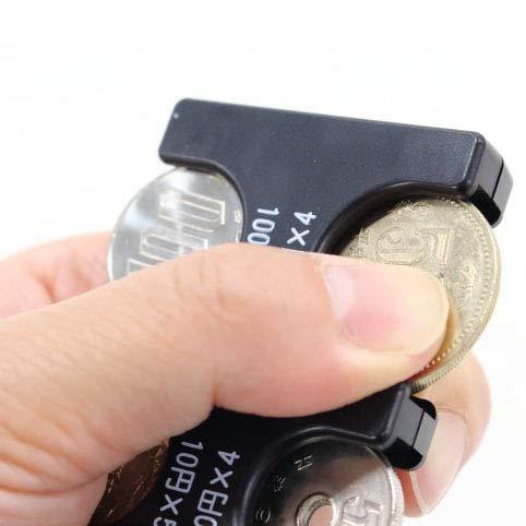 携帯コインホルダー コインをすばやく分類 レジで慌てない 片手で取り出せ 2775円収納でき 振っても落ちない (45×92×12mm ブラック)