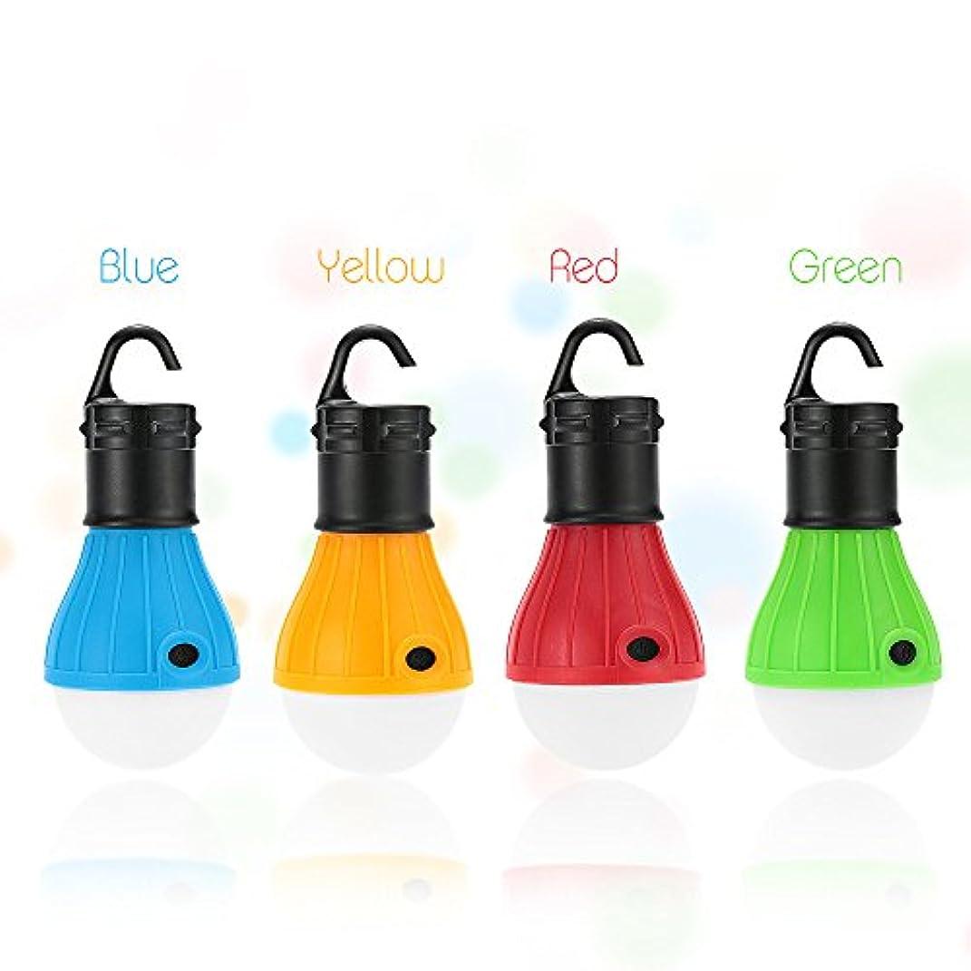 確かなサイトライン散歩SHANGYAOポータブル屋外テントキャンプランプソフトライト LED 電球防水提灯ナイトライト使用 3 * AAA バッテリー