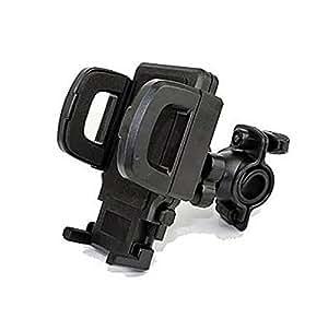 【Smile LaLa】 自転車 サイクリング 用 スマート フォン ホルダー ガラケー も OK 角度 調節 可能 スマホ 携帯