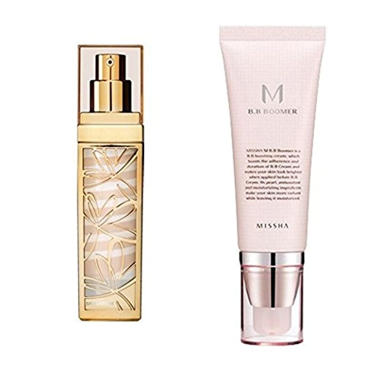 やる切り離す対MISSHA Signature Wrinkle Fill up BB Cream #21 + BB Boomer / ミシャ シグネチャー リンクルフィラー BBクリーム 44g + M BBブーマー40ml [並行輸入品]