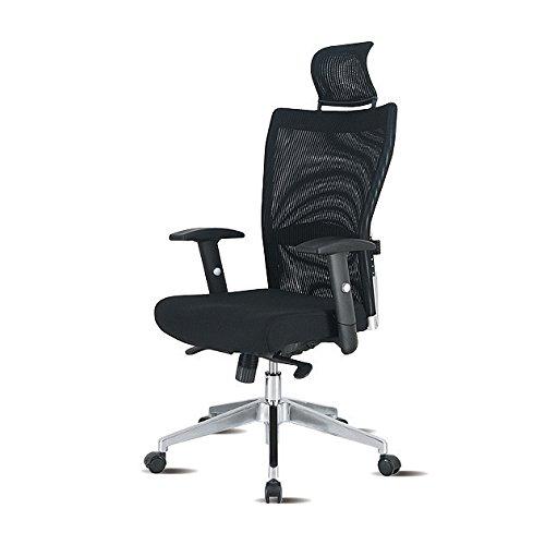 デザイナーズ チェア デスクチェア オフィスチェア TWENTY ハイバック ブラック RTC-20AX-BK