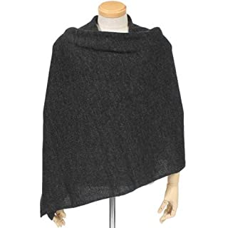 Knitted Scarf BS525: Charcoal