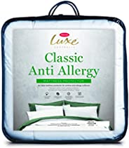 Tontine T6276 Luxe Classic Anti-Allergy Mattress Protector, Single Bed