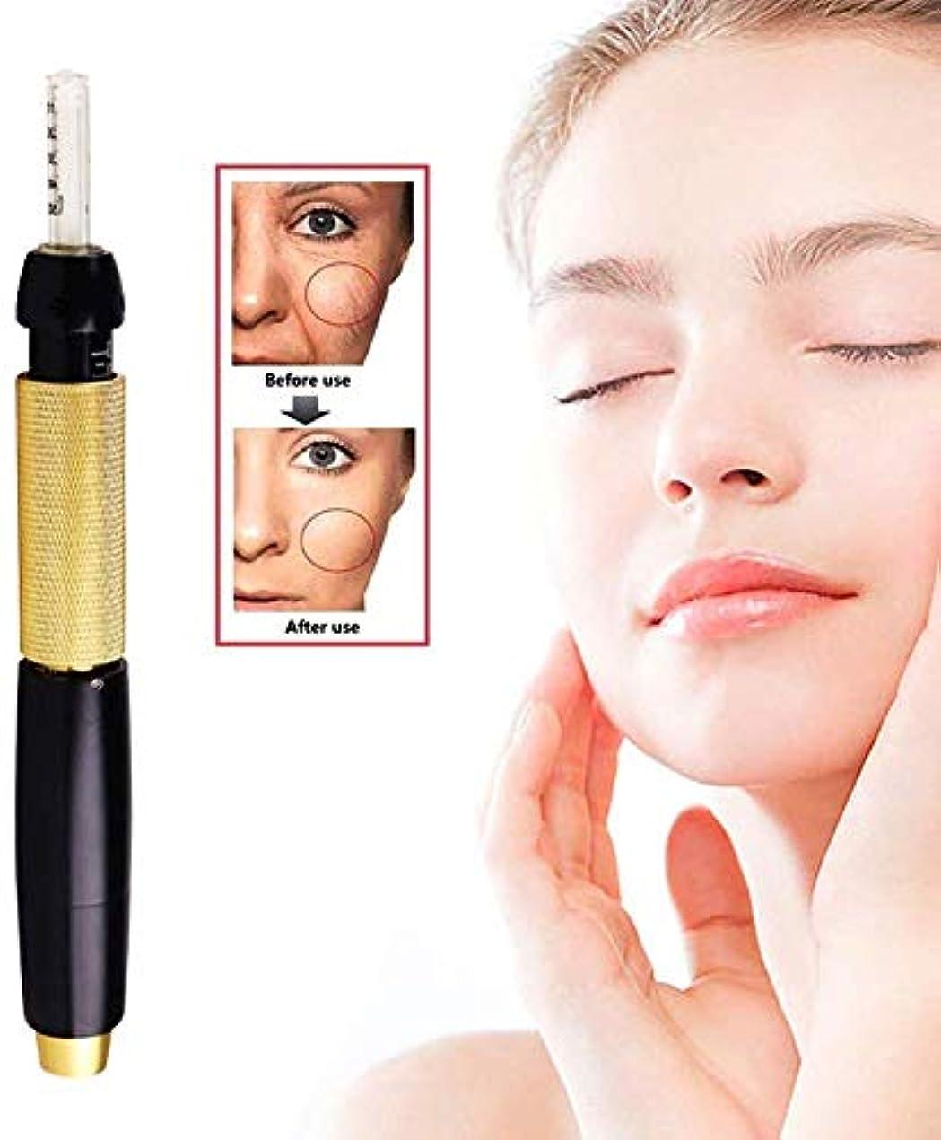 かなりの起きるワックスヒアルロン酸シリンジペン、プロの美容アトマイザー非侵襲性ニードルフリーペン、傷、しわ、しみを軽減し、肌の弾力性を回復