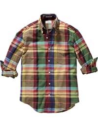 (ガント ラガー) GANT RUGGER Fall Madras E-Z Obd(フォールマドラス)マドラスチェックシャツ [並行輸入品]