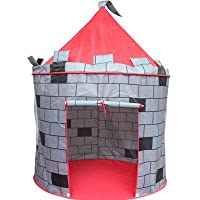 finerkidsナイトの城ポップアップ再生テント、Large indoor-outdoor Playhouse Castle。Perfect for boys-girls 2、3、4 Up。時間の楽しい。easy-up家、Handy Carryケース、Stakes。約束をKEEP ' EM忙しい