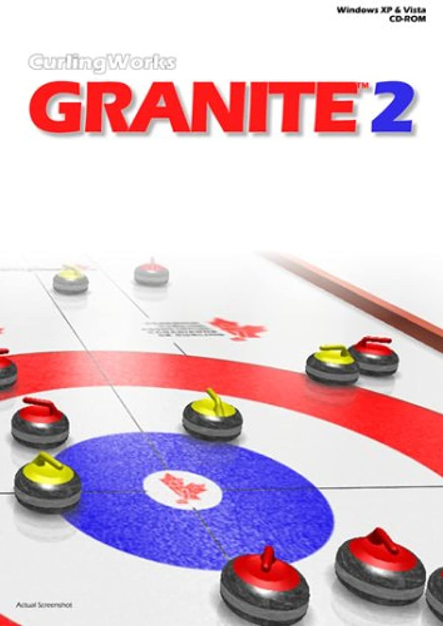 灰苦いピニオンGranite v2 Curling Game (輸入版)