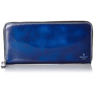 [ランバンオンブルー] LANVIN en Bleu 長財布 ラウンドファスナー サムディ 570606 BLU (ブルー)