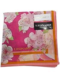 [レオナール] LEONARD 婦人 レディース ハンカチ 桜