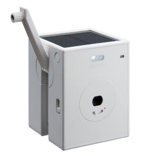 Powershovel デジタルカメラ SUN&CLOUD 300万画素 マルチチャージャブルカメラ ホワイト 3107W