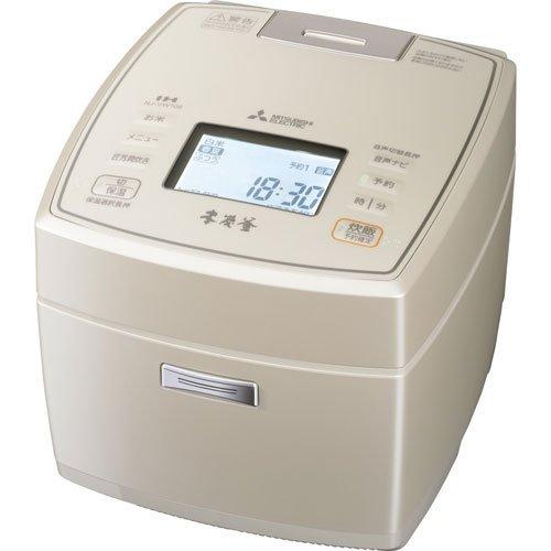 IHジャー炊飯器(5.5合炊き) 白和三盆MITSUBISHI 本炭釜 三菱 NJ-VW108-W