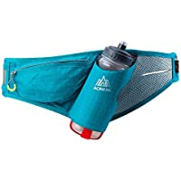 AONIJIE Hydration Waist Pack with 600ml Water Bottle Men Women Running Belt, Adjustable, Breathable