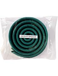 お香/うずまき香 OCEAN BREEZE オーシャンブリーズ 直径6.5cm×5巻セット [並行輸入品]