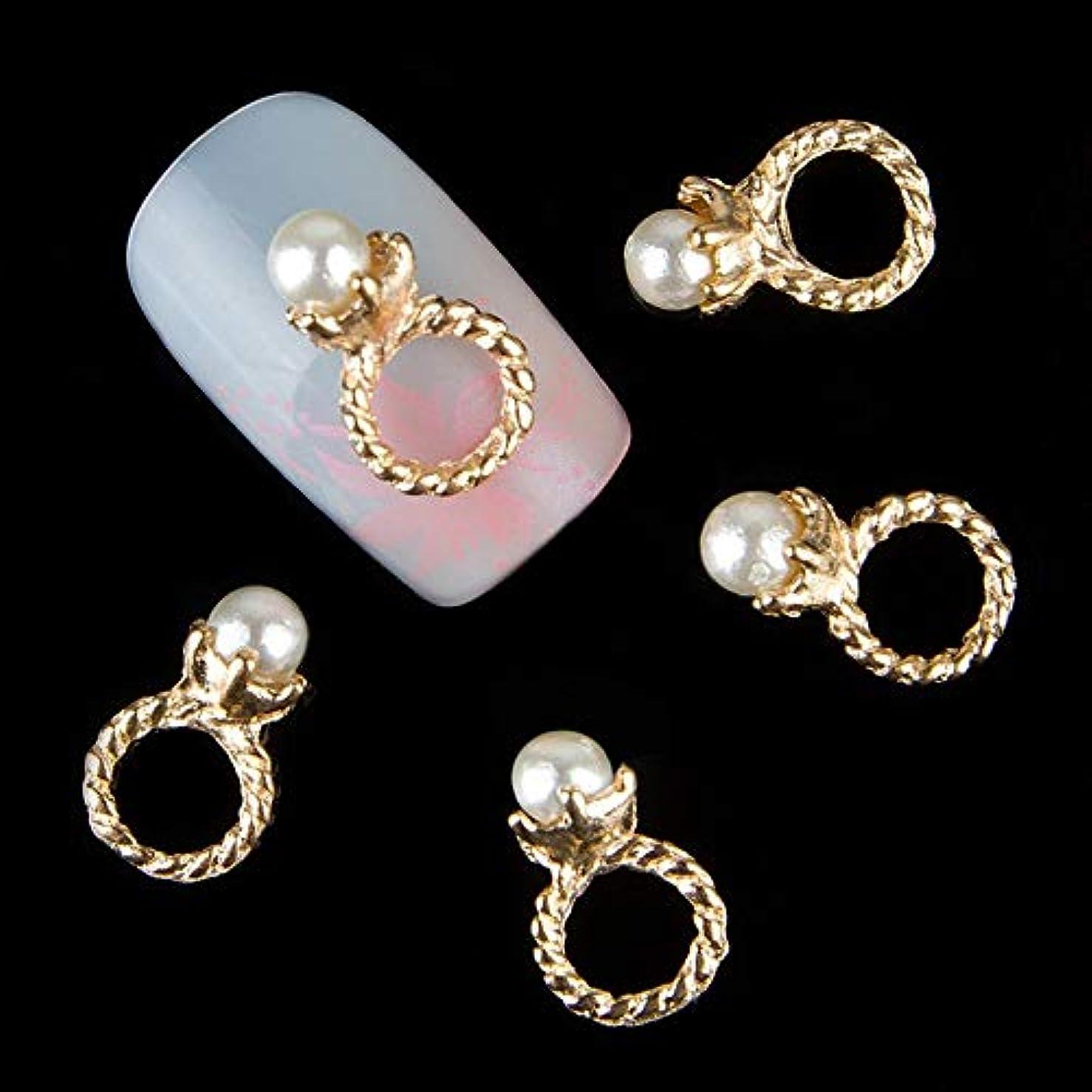 周りカップル乳マニキュア合金デコレーションラインストーンネイルアート用ネイルアートチャームジュエリーのための3Dのリングのデザインラインストーンの装飾